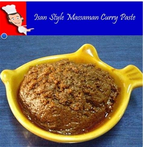 curry paste recipe thai massaman curry paste keeprecipes your universal recipe box