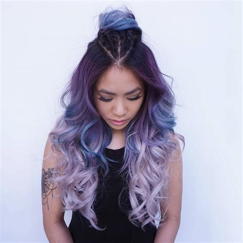 magnetizing mermaid hair color ideas real life fantasy