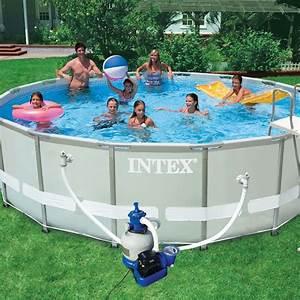 Piscine Tubulaire Hors Sol : piscine hors sol tubulaire ultra blanc ~ Melissatoandfro.com Idées de Décoration