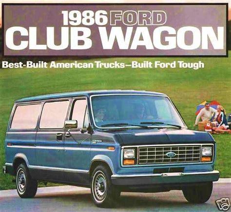 buy  ford club wagon brochure    xl xlt