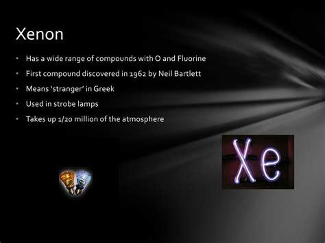 noble gases ppt powerpoint presentation bartlett neil stranger fluorine compound means xenon