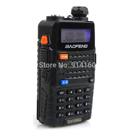aliexpress buy range handheld portable cb radio bf uv5rc 5w 128ch vhf uhf 136
