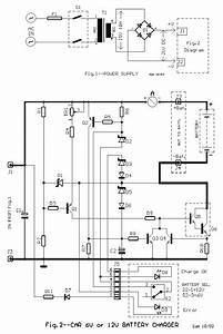 6v And 12v Car Battery Charger Circuit Design Diagram  With Images