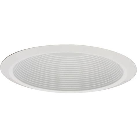 menards recessed ceiling lights 6 quot white baffle recessed trim at menards 174