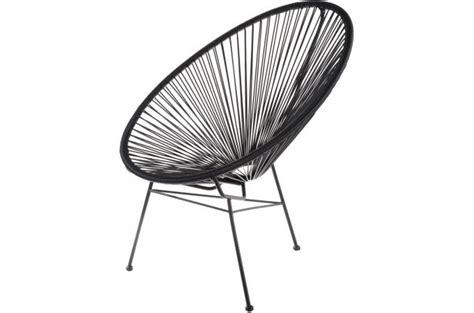 chaise acapulco pas cher fauteuil la chaise longue noir acapulco fauteuil design pas cher