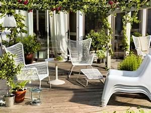 Gartenmöbel Weiss Ikea : ikea gartenm bel 22 stilvolle ideen f r ihren au enbereich balkonm bel terrassenm bel ~ Markanthonyermac.com Haus und Dekorationen