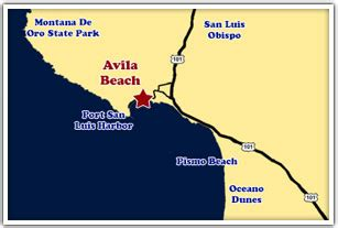 maps  directions  avila beach california