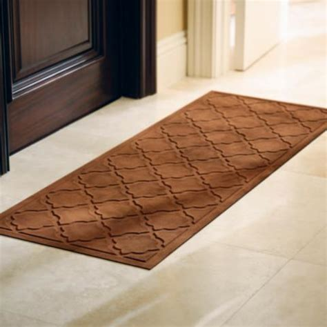 Frontgate Doormats by Low Profile Trellis Microfibers 174 Door Mat Frontgate