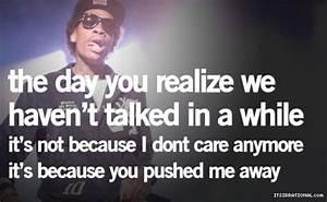 Wiz Khalifa Quotes About Friendship. QuotesGram