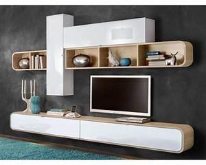 Meuble Design Tv Mural : meuble mural meuble pour tele trendsetter ~ Teatrodelosmanantiales.com Idées de Décoration