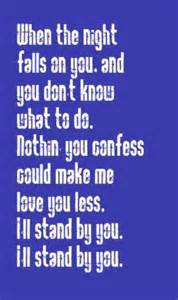Pretenders I'll Stand by You Lyrics