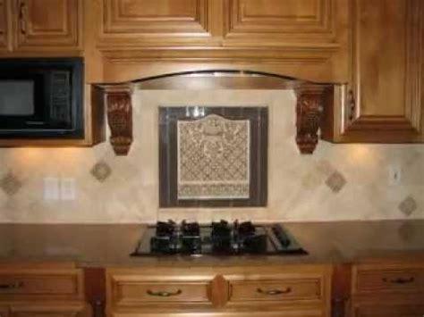 kitchen tile backsplash medallions tumbled backsplash with medallion 6242