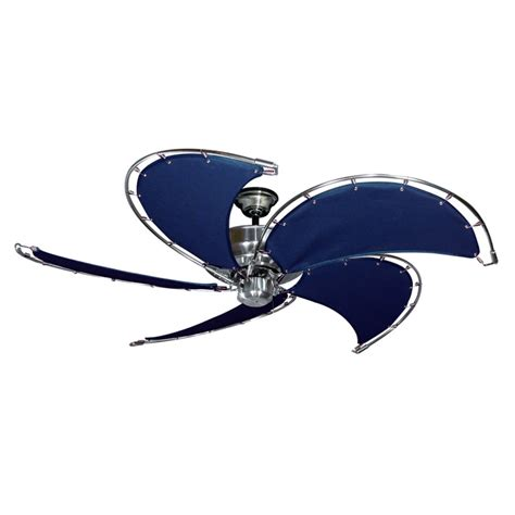 gulf coast ceiling fans gulf coast nautical raindance ceiling fan brushed nickel