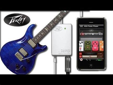 connect guitar to iphone peavey kit link unboxing app review connect your