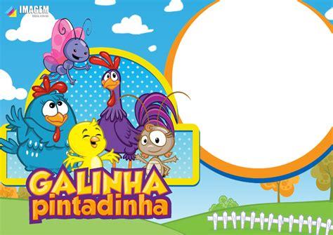 Moldura PNG Galinha Pintadinha Imagem Legal em 2020