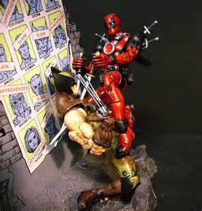 Wolverine vs Deadpool Action Figures