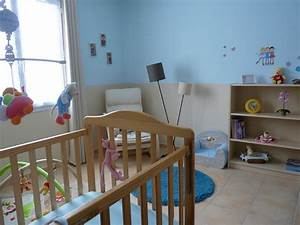 beautiful exemple peinture chambre bebe fille 2 gallery With idee peinture chambre garcon