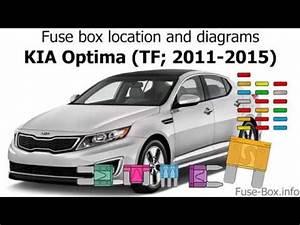 2011 Kia Optima Fuse Box Diagram : fuse box location and diagrams kia optima tf 2011 2015 ~ A.2002-acura-tl-radio.info Haus und Dekorationen