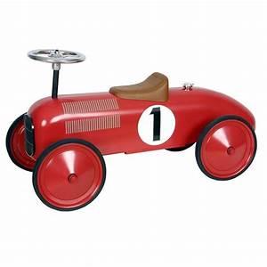 Voiture Porteur Bébé : voiture porteur enfant design rouge protocol tendance enfant ~ Teatrodelosmanantiales.com Idées de Décoration