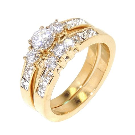 awesome wedding rings for both and matvuk