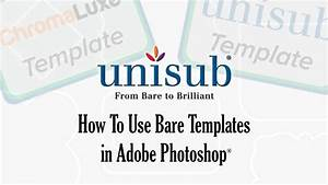 How To Use Templates For Sublimation In Photoshop