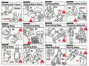Funny Don U0026 39 Ts - Baby Care Instructions Chart