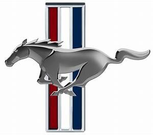 Ford Mustang Tri Bar Logo Emblem vinyl decal wall graphic