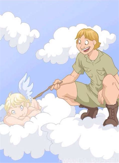 The Croc Hunter in Heaven | Funny happy birthday pictures ...