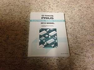 2010 Toyota Prius Electrical Wiring Diagram Manual Hybrid