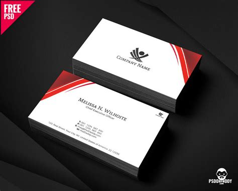 corporate business cards design psd psddaddycom