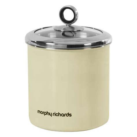 large kitchen canisters morphy richards 1 7 litre stainless steel large kitchen storage jar canister uk ebay