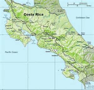 Maps of Costa Rica Costa Rica