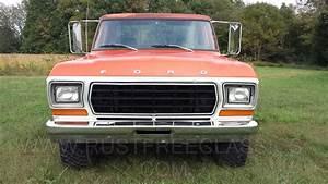 1978 F150 Ford 4x4 Short Bed Step Side Ranger Orange