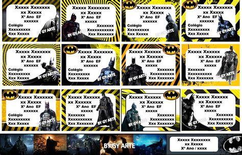 kit etiquetas escolares personalizadas diversos temas r 7 00 em mercado livre