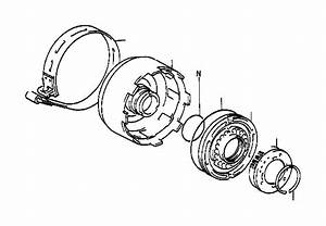 Toyota Corolla Drum Sub-assembly  Direct Clutch  Transmission  Driveline