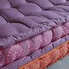 banquette d angle modulable 6 places en coton multicolore