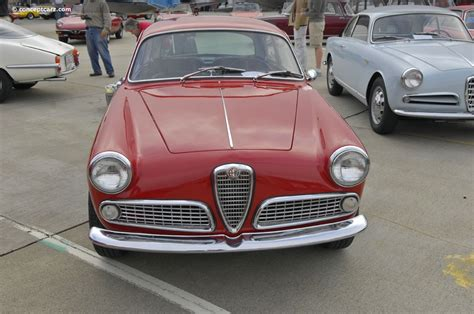 1959 Alfa Romeo by 1959 Alfa Romeo Giulietta At The Concorso Italiano