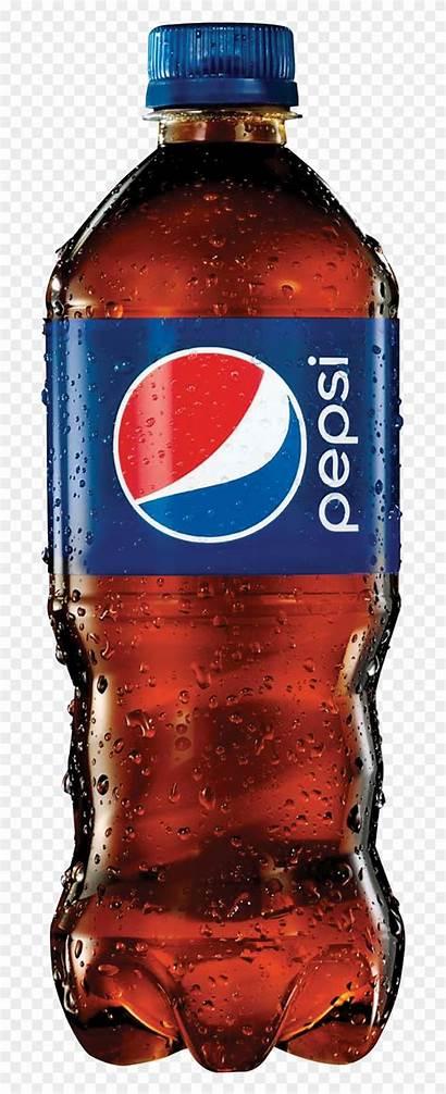 Pepsi Bottle Soda Clipart Transparent Background Water