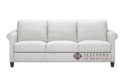 customize  personalize parma  queen leather sofa