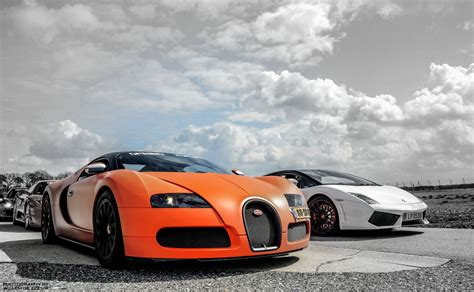 Lamborghini Vs Bugatti Wallpaper