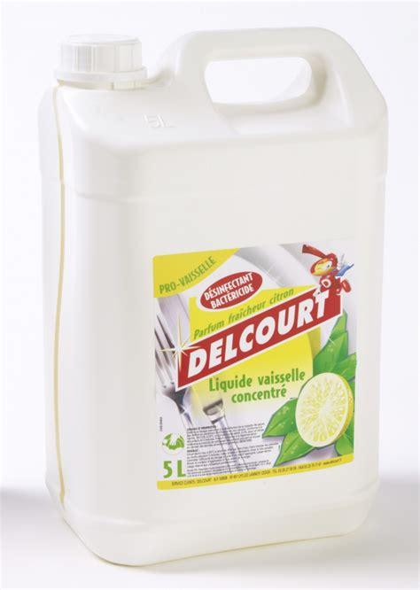 jex de cuisine liquide vaisselle désinfectant delcourt 5 litres pour