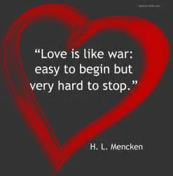 Love Like War Quotes