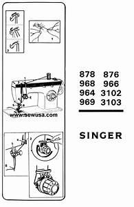 Singer 3102 3103 Instructions Manual