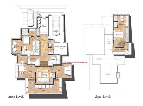 modern floorplans mcm design modern house plan 2