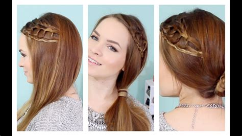 Quick Knotted Braid Hairstyle
