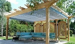 Pergola Mit Sonnensegel : pergola mit sonnensegel eine absolute wohlf hlgarantie ~ Avissmed.com Haus und Dekorationen
