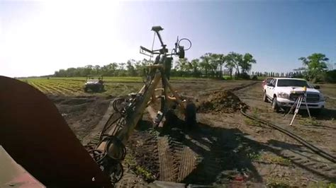 Gold Digger Zd Tile Plow by Drain Tile Installation With Soil Max Gold Digger