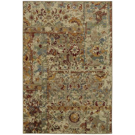 area rugs home depot mohawk home tobey marigold 8 ft x 11 ft area rug 532628