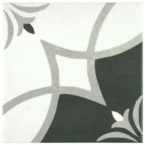 Home Depot Merola Tile Twenties by Merola Tile Twenties Crest 7 3 4 In X 7 3 4 In Ceramic