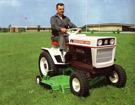 Garden Tractor by The Large Frames Bolens Tractor Forum Gttalk